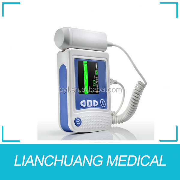 High quality ultrasonic pocket doppler with energy-saving advantage