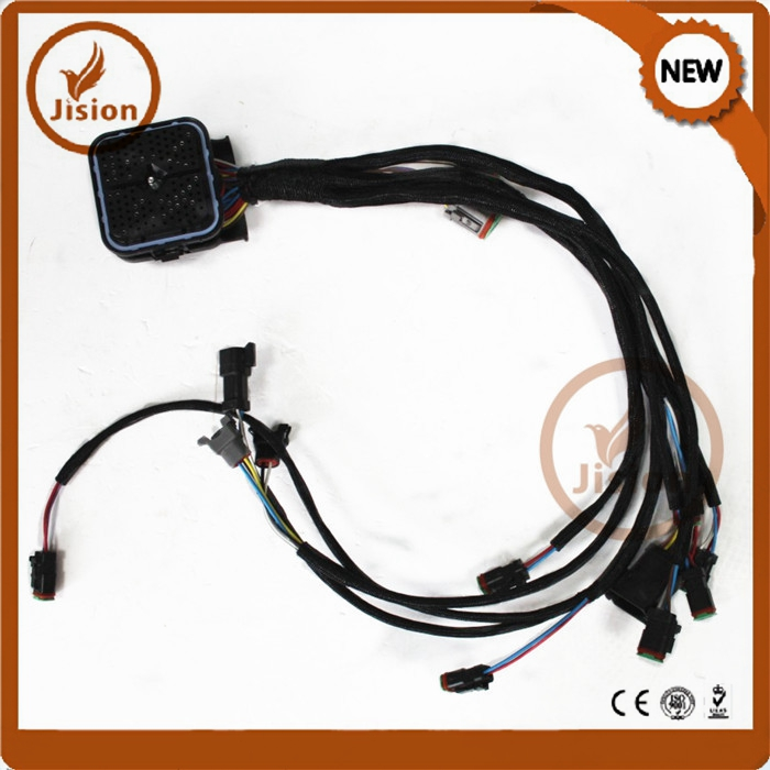 Jision CAT 325D Excavator Engine Wiring Harness cat engine wiring harness, cat engine wiring harness suppliers and cat conversion wire harness at bakdesigns.co