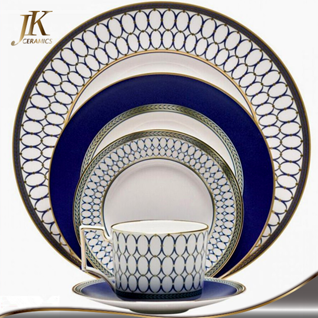 Wholesale bone china navy blue plates crockery set porcelain dinnerware  sc 1 st  Alibaba & Wholesale Bone China Navy Blue Plates Crockery Set Porcelain ...