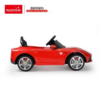 rastar shopping car kids toy ferrari licenced f12 baby remote control ride on car