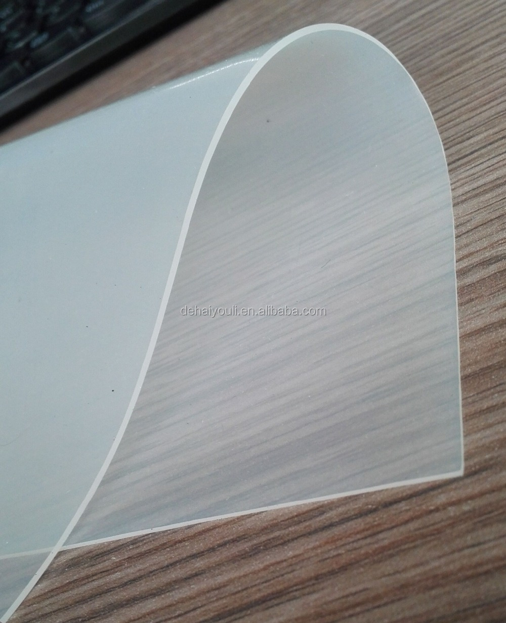 Translucent Silicone Rubber Sheet / Transparent Silicone Membrane SRS