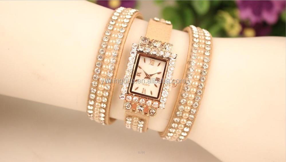 2015 New Design Bracelet Dress Quartz Watch Girl - Buy Watch Girl ...