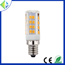 Ceramic body IC driver dimmable 3w most powerful e14 110v e27 led light bulb