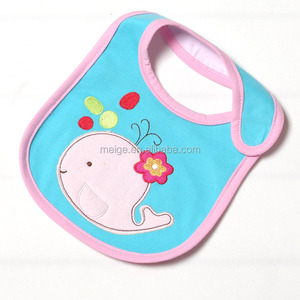 Hot Quality Custom Waterproof Plain Baby Bibs