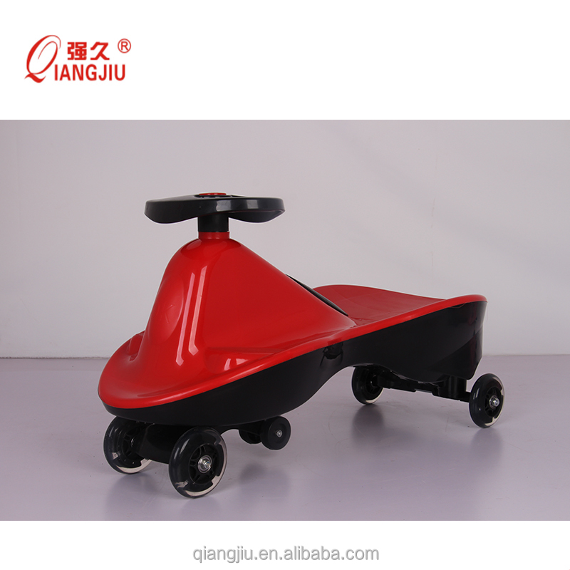 CE good quality light green color ride on car for years 3+ kid/ toddler / twist and go car/magic car--Xingjiu co