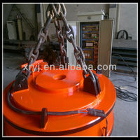Round Electromagnet 2016 HOT SALE MW5 steel scrap electromagnet lifter,installed on crane or excavator AND FORKLIFT
