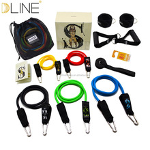 Ultimate Product 11 PCS Fitness Resistance Bands Exercise Elastic Resistance Tube