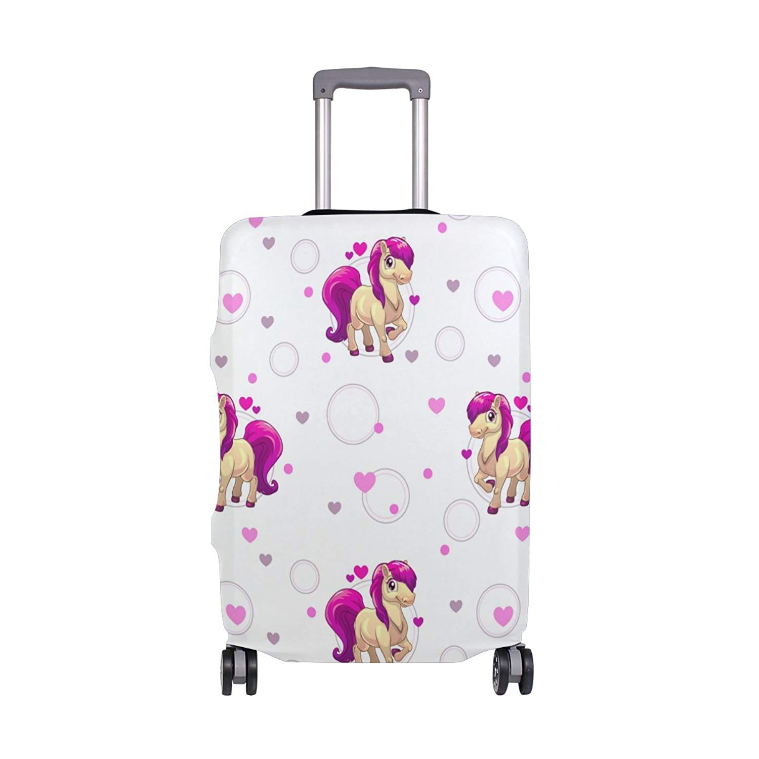 GIOVANIOR Bear Luggage Cover Suitcase Protector Carry On Covers