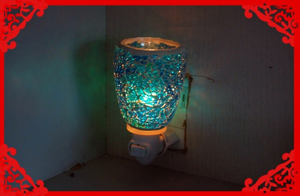 Mosaic Decorative Plug In Night Lights/wall Plug Night Lights ...
