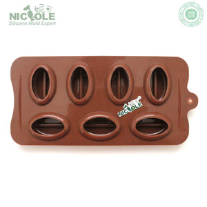 NICOLE silicone coffee bean mold