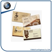 Frosted Finish Plastic Business Card