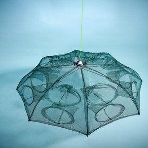 4 Entrance Umbrella Fishing Trap And Umbrella Style Crab Traps