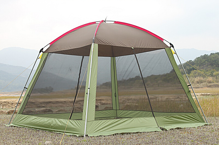 Portable Beach Sahde Haxegon Tent Foldable Mosquito Net