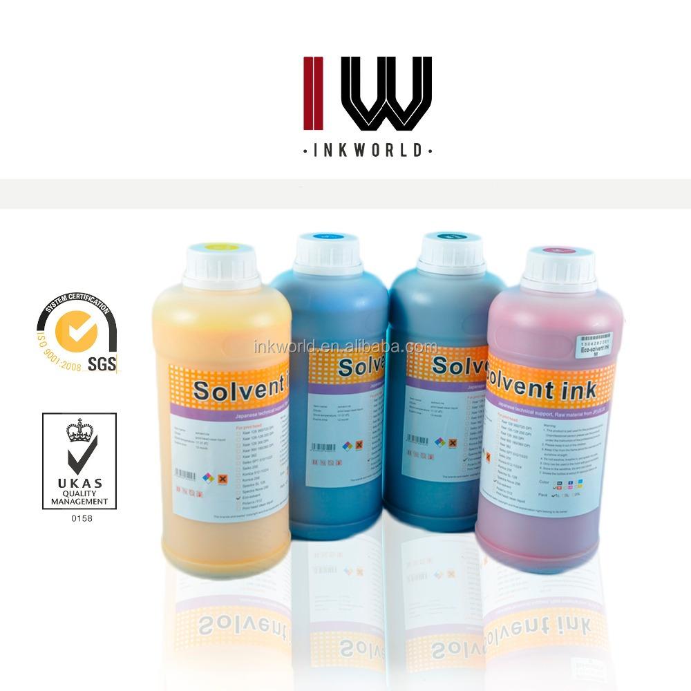 Color vivo a prueba de UV tinta de recarga para Epson Dx5 tinta eco ...
