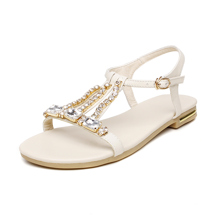 womens shoes new summer 2017 flat sandals new style womens leather sandals