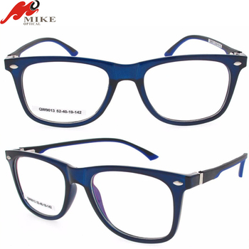 Polycarbonate Plastic Silicon Temple Foot Modern Optical Frames