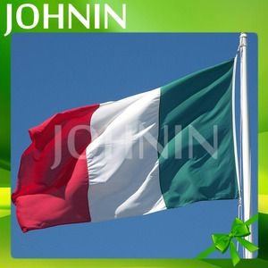 OEM 3*5ft High Quality Polyester Green White Red Flag Italy Flag