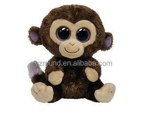 Sock Monkey Knitted Soft Stuffed Plush Toy 46