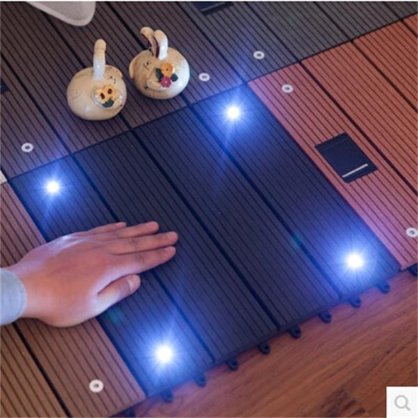High Quality Economic Waterproof Wpc Diy Deck Solar Lighting Tiles For  Garden   Buy Wpc Interlocking Decking Tiles,Wpc Diy Decking Tiles,Wpc Diy  Decking ...