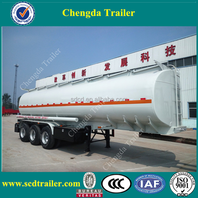 Chengda brand new diesel fuel tanker truck trailer semi truck fuel tanks for sale