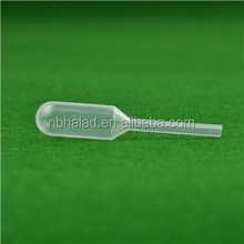 1ml LDPE disposable lab plastic pipette bottles dropper for liquid drops