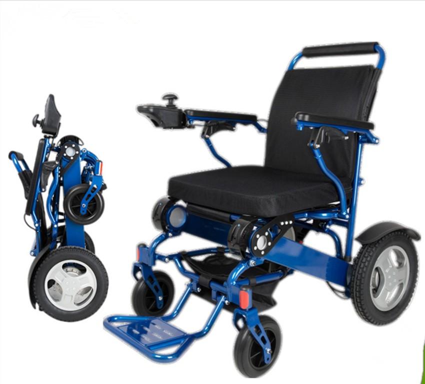 Lightweight Folding Power Travel Wheelchair Electric Buy