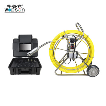 Push Rod  Industrial Pipe Sewer Drain Plumbing Camera Supplier