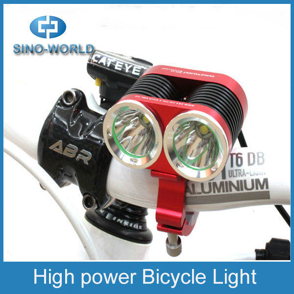 CR EE T6 high power aluminum bicycle lamp and head flash torch mountain bike lights