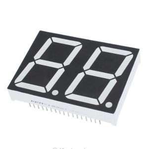 Factory price 0.28 0.56 0.8 inch 2 digit led display blue red yellow