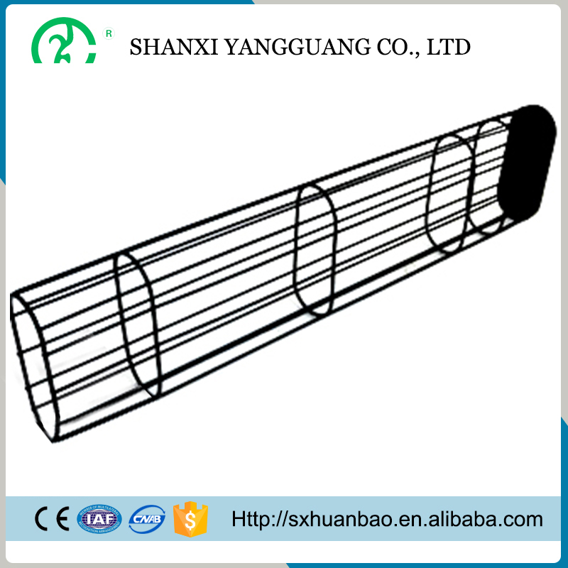 Hot selling flat envelope dust collecting filter bag cage