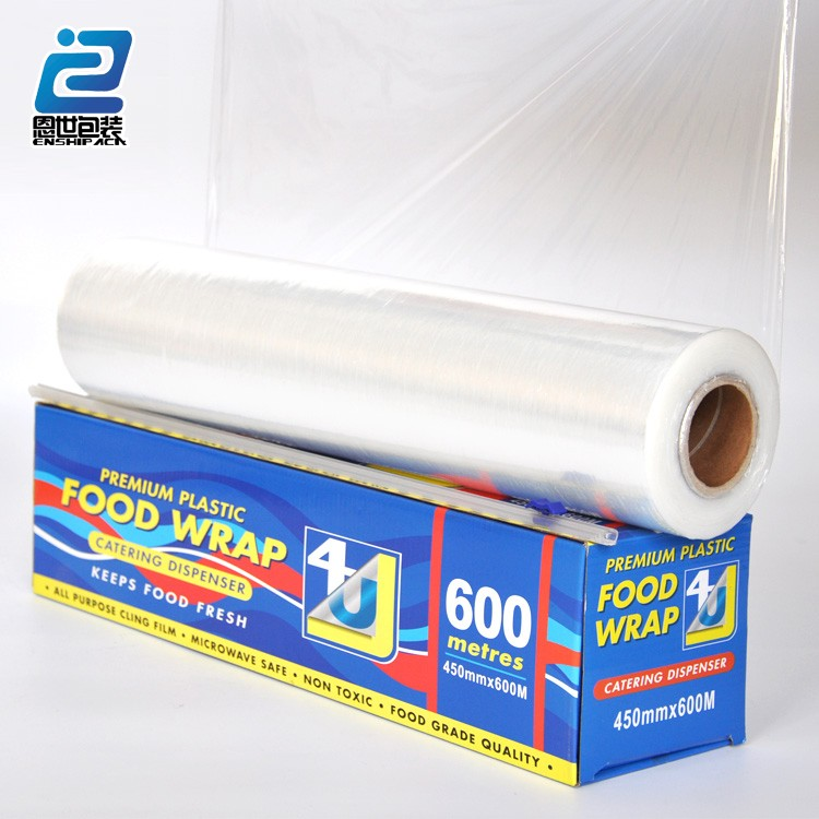 High Quality Food Grade Packaging Film Pvc Cling Film Wrap Film Clear  Wrapping Plastic Paper - Buy Food Grade Packaging Film,Cling Wrap,Cling  Film