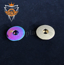 Bicycle Headset Caps Bicycle Parts Titanium CNC Headset Top Cap