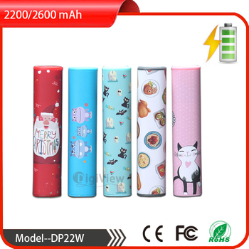OEM powerbank/ water transfer logo printing moible power bank