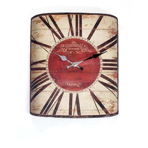 Home Goods Clocks: Factory Customized Wooden Crafts Home Goods Antique Quartz