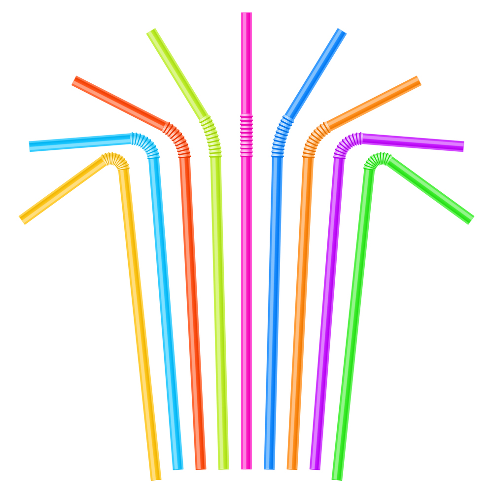 Hot Sale Coloful Plastic Drinking Straw