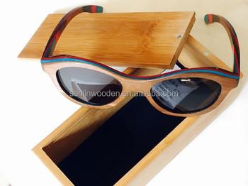 ea2949a0ab0 2015 Oem Colorful Lenses Wooden Bamboo Sunglasses
