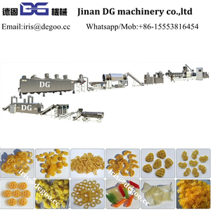 Turnkey project machines factory manufacturer 3d 2d pellet snack food papad production line/making equipment/processing plant