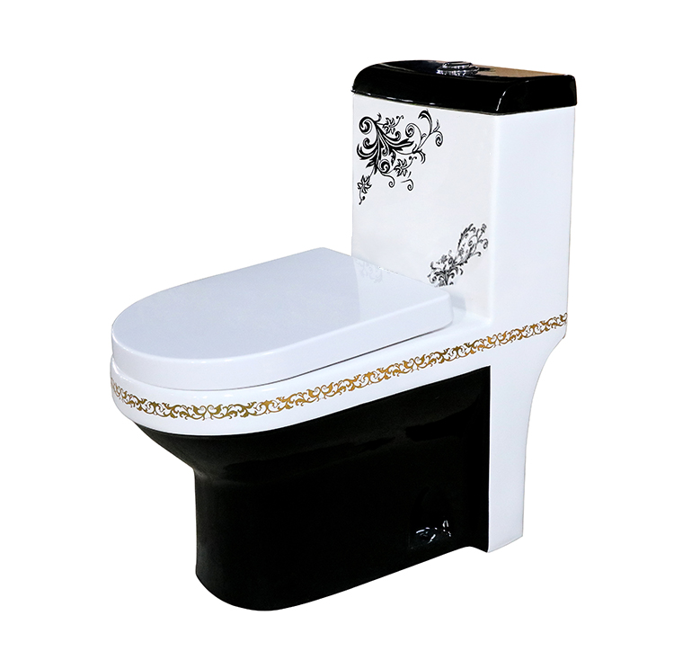Cheap Sanitary Ware Flower Black Toilet Buy Cheap