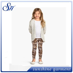 baby cat clothes kids pants soft girls leggings