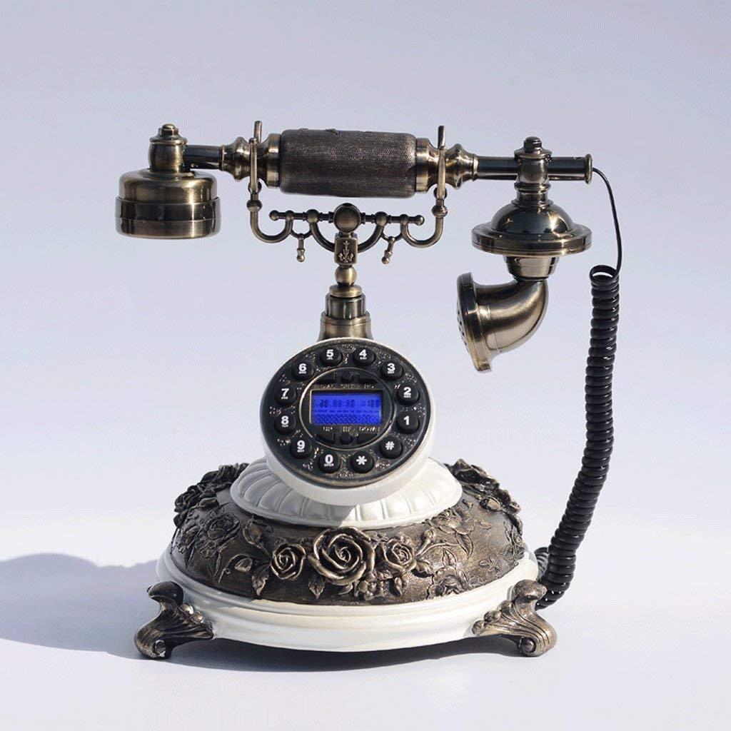 Corded Telephone/Retro Antique Telephone/Landline/Home Phone/Vintage Decorative Telephones (Color : 1)