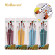 Factory Wholesale Four Style Painting Tools 5 Piece Nylon Hair Watercolor Acrylic Brush Set For Artist