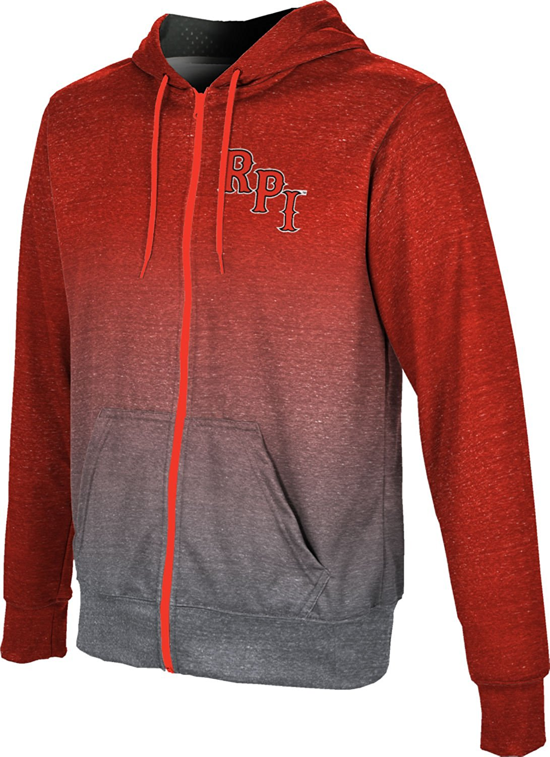 Rensselaer Polytechnic Institute University Boys' Fullzip Hoodie - Ombre