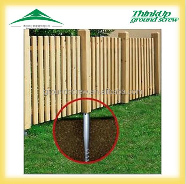 No Dig Fence Posts Bing Images