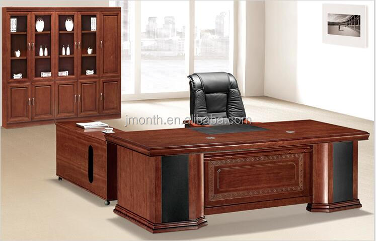 French Baroque Style Luxury Executive Office Desk/ European Classic Wood  Table/ Retro   Buy Luxury Executive Office Desk,Luxury Executive Office Desk,Luxury  ...