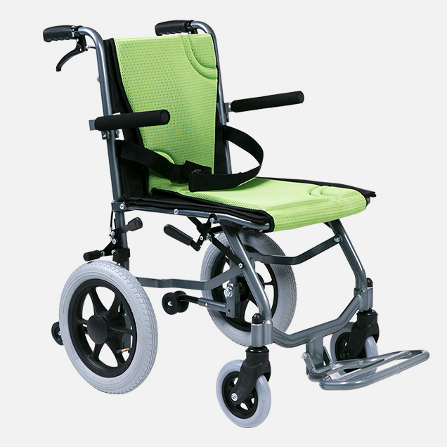 China Cheapest Handicapped Foldable Folding Wheelchair for Disabled