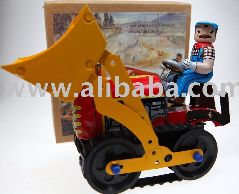 Tin Toy Front End Loader