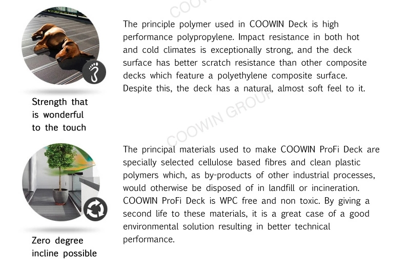 Engineering Swimming Poor Decking Moisture-proof Type Solid Home WPC Floor Boards