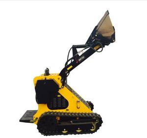 Crawler walk behind mini skid steer loader MMT80 for garden/construction