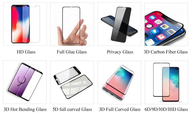 Yüksek kaliteli cep telefonu anti çizik özelleştirilmiş ekran koruyucu için Redmi not 8pro