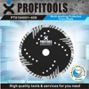 multi-slanting protected turbo concrete saw blade